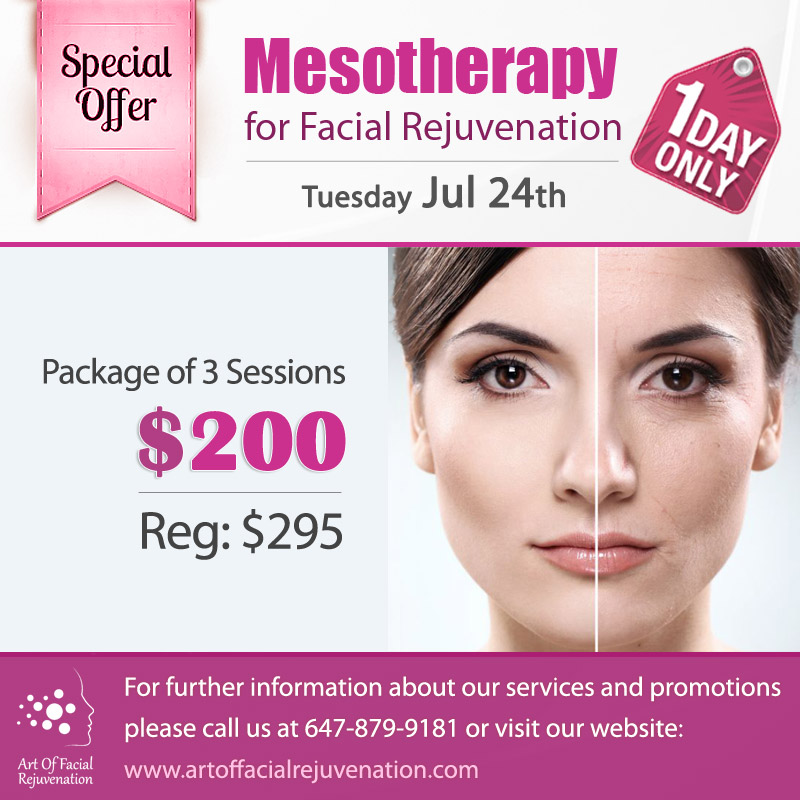 Art Of Facial Rejuvenation Tuesday Mesotherapy 20180724