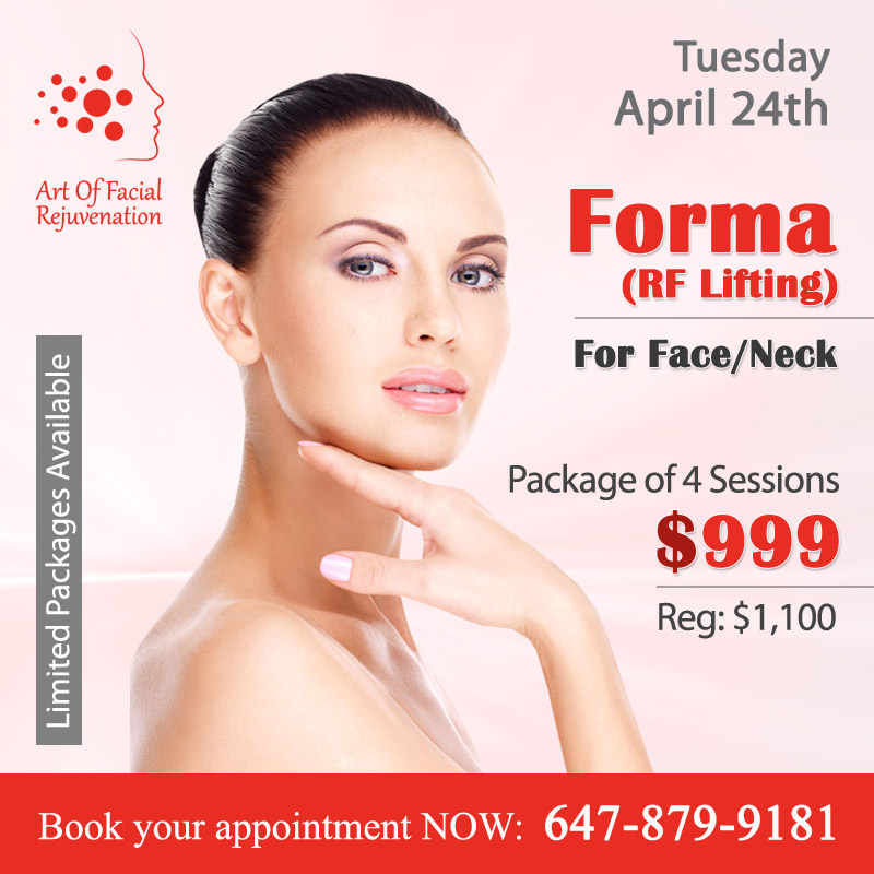 Art Of Facial Rejuvenation Tuesday Promotion Forma 20180424