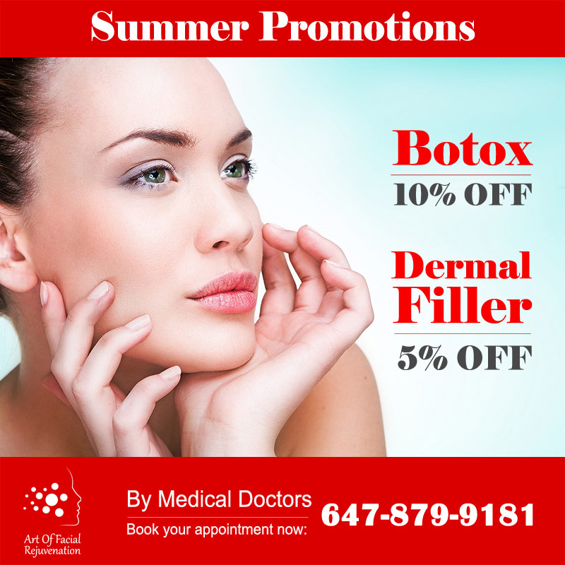 Art Of Facial Summer Promotions Botox Filler 2018