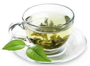 green tea healthy skin