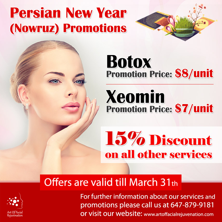 Persian New Year Promotions Nowruz 2019