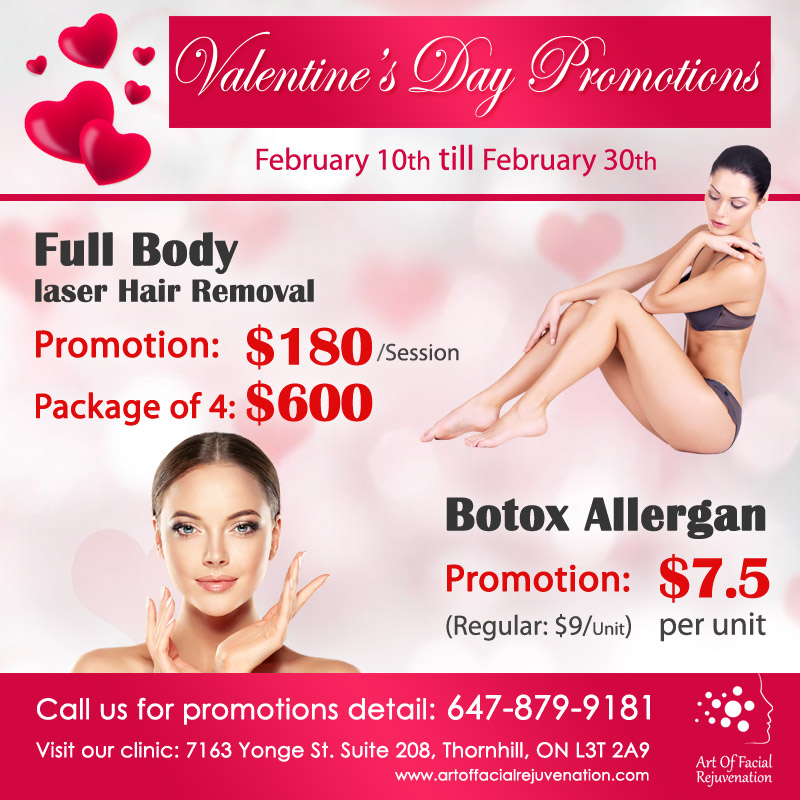 Art Of Facial Valentine Day Promotion 2020